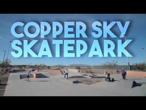 SM327: Copper Sky Skatepark