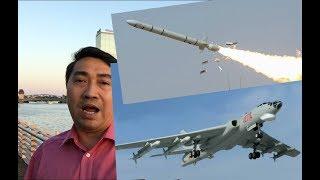 TQ điều máy bay ném_bom đe dọa - VN rút chiến hạm Quang Trung ngự phòng