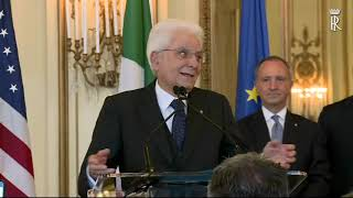 Mattarella incontra la collettività italiana di San Francisco