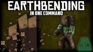 Minecraft - EarthBending [One Command] [By SirStickyNote]