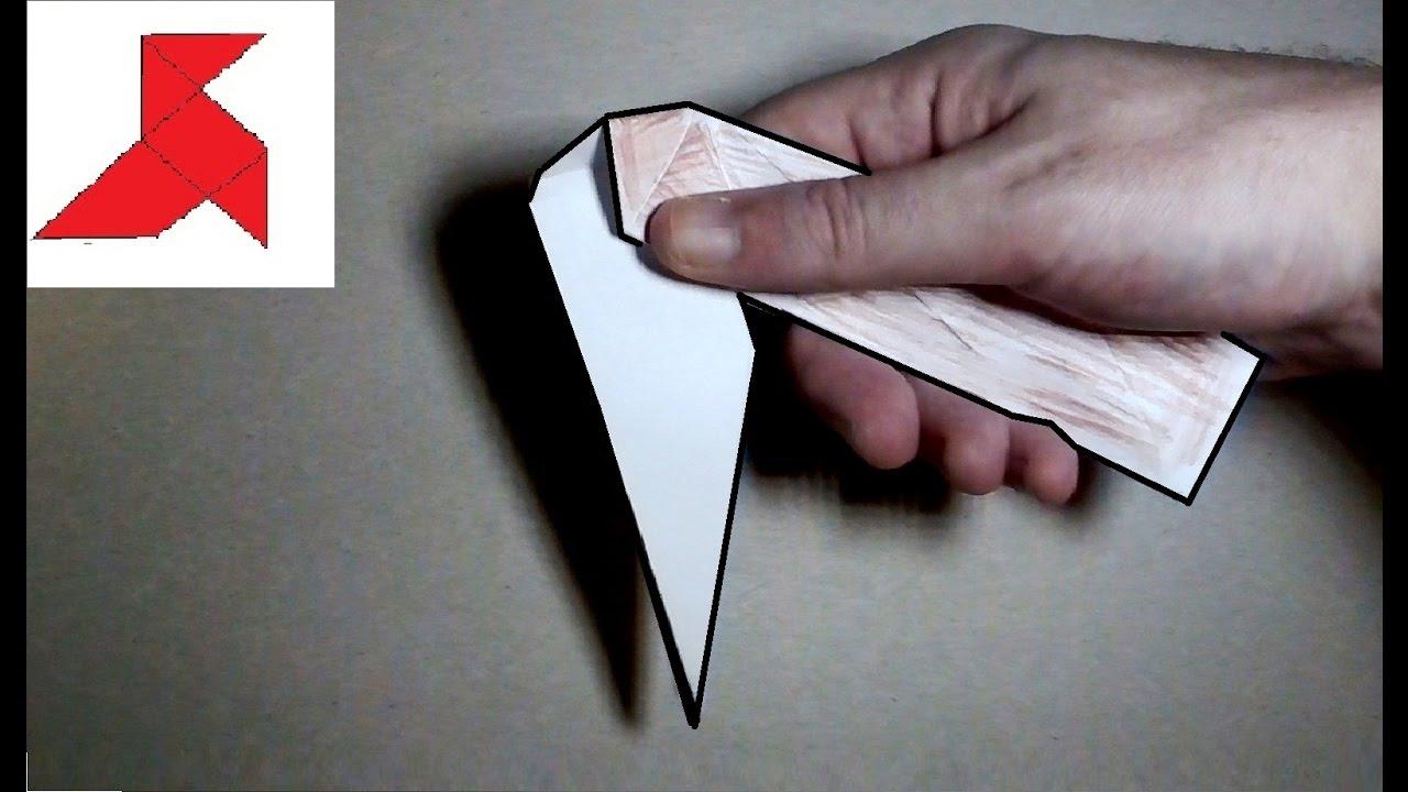 Как сделать нож из бумаги поэтапно 78