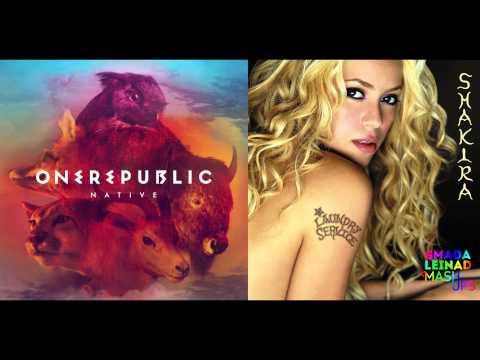 OneRepublic vs. Shakira - Counting Stars Whenever Wherever