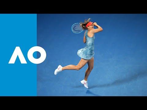 Maria Sharapova v Caroline Wozniacki match highlights (3R) | Australian Open 2019