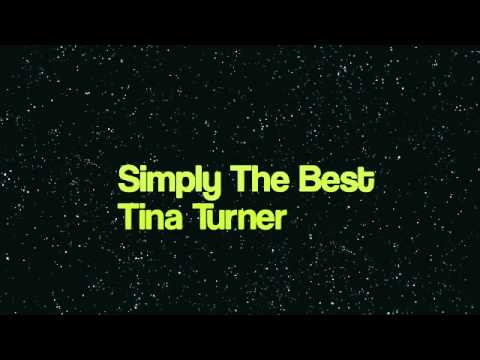 Simply The Best - Tina Turner (instrumental) - YouTube