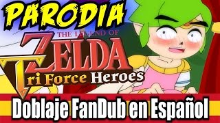"El Disfraz perfecto! - PARODIA DE ""THE LEGEND OF ZELDA ( Spanish Fandub )"