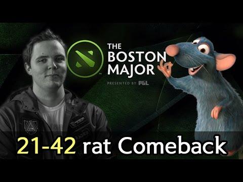 Alliance heritage on Boston Major 21-42 rat Comeback