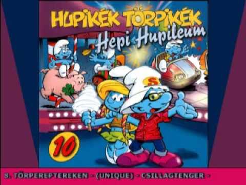 Hupikék Törpikék - Törpereptereken 08 (10. Album) (Hungarian)