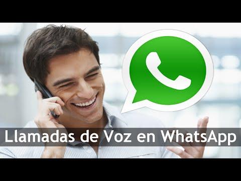Como Hacer Llamadas de voz en WhatsApp | Nueva Version