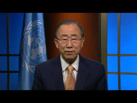 U.N. Secretary-General Ban Ki-moon Address to The Hunger Project at their Fall Gala 2015