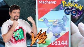 ¡Como hacer SOLO una INCURSIÓN de NIVEL 3 en Pokémon GO! ¡MACHAMP en SOLITARIO! [Keibron]