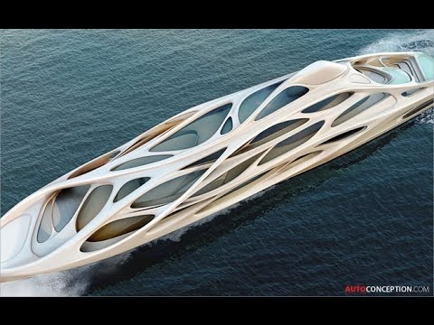 Zaha Hadid Designs Superyacht for Blohm+Voss