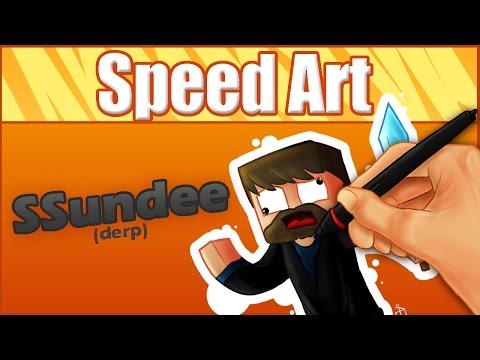 SSundee(Derp)- Speed Art