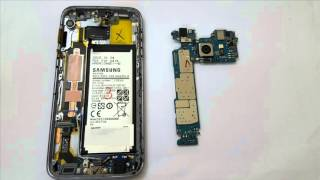 Galaxy S7 teardown - World first look parts inside