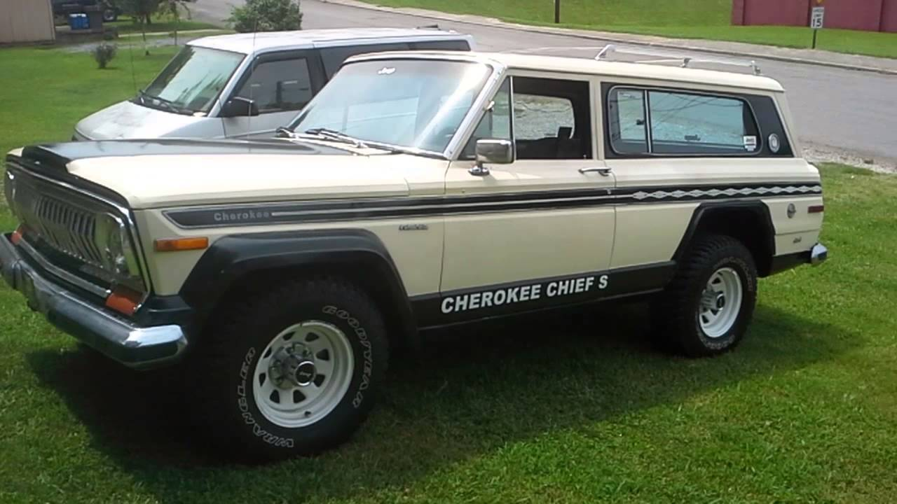 1977 Jeep Cherokee Chief For Sale Autos Post