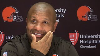 Hue Jackson on Snoop Dogg's visit with the Browns