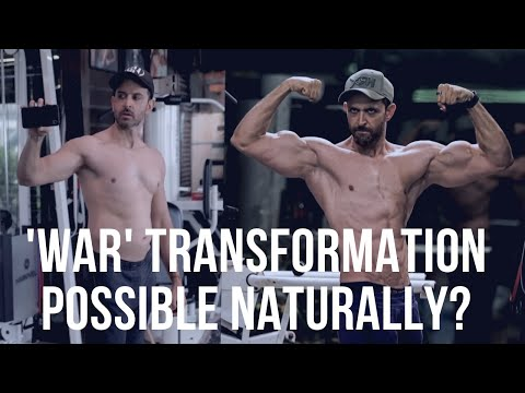 Hrithik Roshan Body Transformation For War Movie | is Natural ? | Inspirational