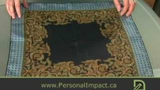 How to fold pocket squares - Puff Folds