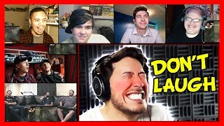 Markiplier - Try Not To Laugh Challenge #4 Reaction Mashup