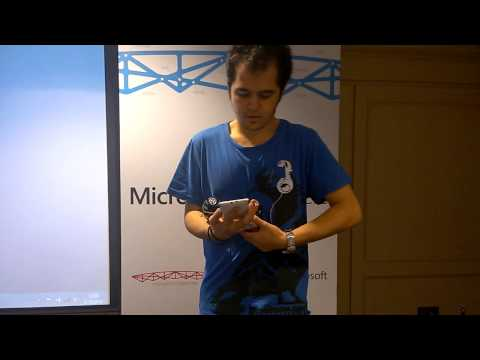 Webit Microsoft IoT Hackathon - TI SensorTag Controlled BeeWi Bluetooth Car