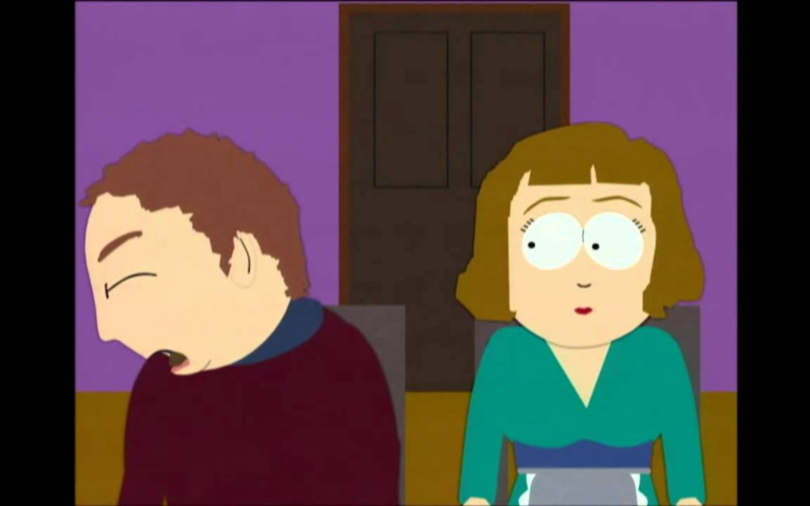 South park cartman craps