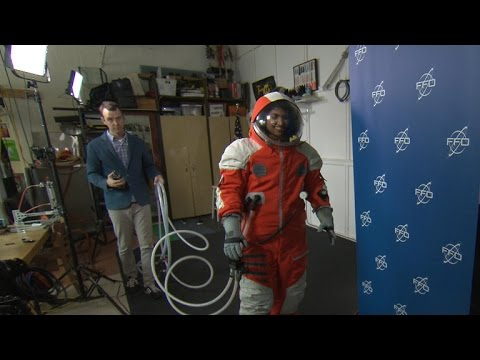 Victoria's Secret designer engineers NASA spacesuits
