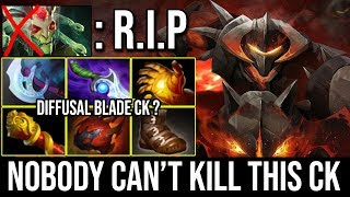 When This Chaos Knight Get Fat Noone Can Kill Him - Diffusal Blade Build Counter Medusa Dota 2