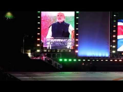 UK Welcome Modi: Prime Minister of India, Shri Narendra Modi Live 2