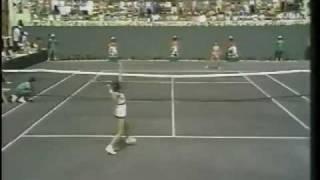 Nancy Richey vs Pam Teeguarden - 1975 CBS Pressure Point