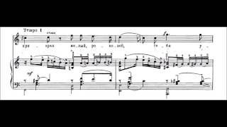 "Rachmaninov - ""Oh, never sing to me again!"" (Op. 4, No. 4) (Netrebko)"