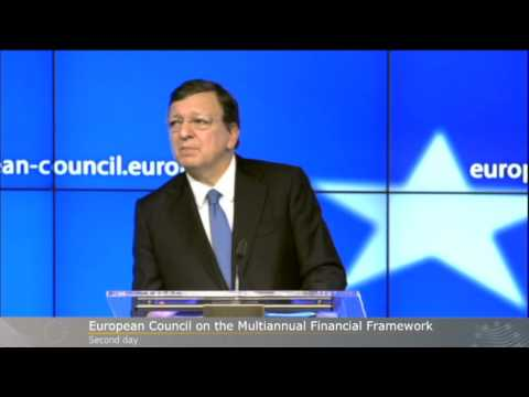 Special European Council on EU Budget 22 November 2012 (Day 2) - press conference