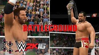 Battleground 2016: Zack Ryder vs. Rusev (U.S. Title Match) — WWE 2K16 Match Sim