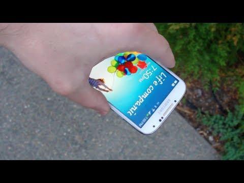 Samsung Galaxy S4 Drop Test & Durability Video