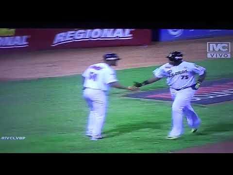 Jonron de Jesus Aguilar Leones a Magallanes noveno inning