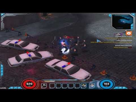 Testando o open beta de Marvel Heroes