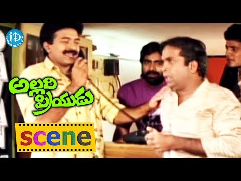 Allari Priyudu Movie Scenes – Rajasekhar And Brahmanandam Comedy    Ramya Krishna, Madhubala Photo Image Pic