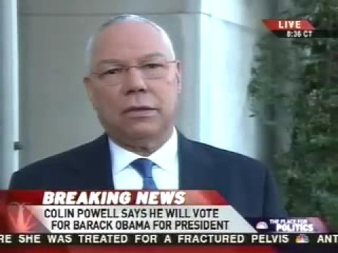 Colin Powell Eviscerates McCain's Negative Smear Campaign