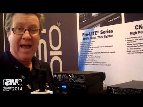 ISE 2014: Crest Audio Launches Eight New Pro-LITE Amplifiers