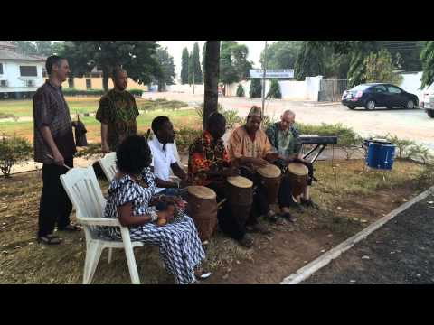 blood drum spirit at WEB DuBois Center Accra 3