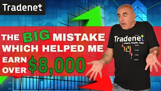 Day Trading for $8,000 by having a BIG mistake!