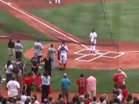 National Anthem Fenway Park Video