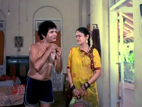 Asrani To Fight With A Renowned Wrestler - Ghar Ek Mandir Best...