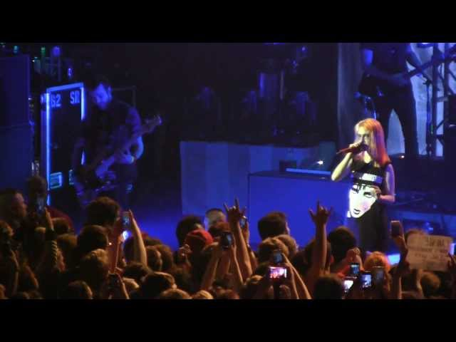 "Paramore in Detroit- ""Whoa"" (Extended) Live (1080p HD) at the Fillmore on May 10, 2013"