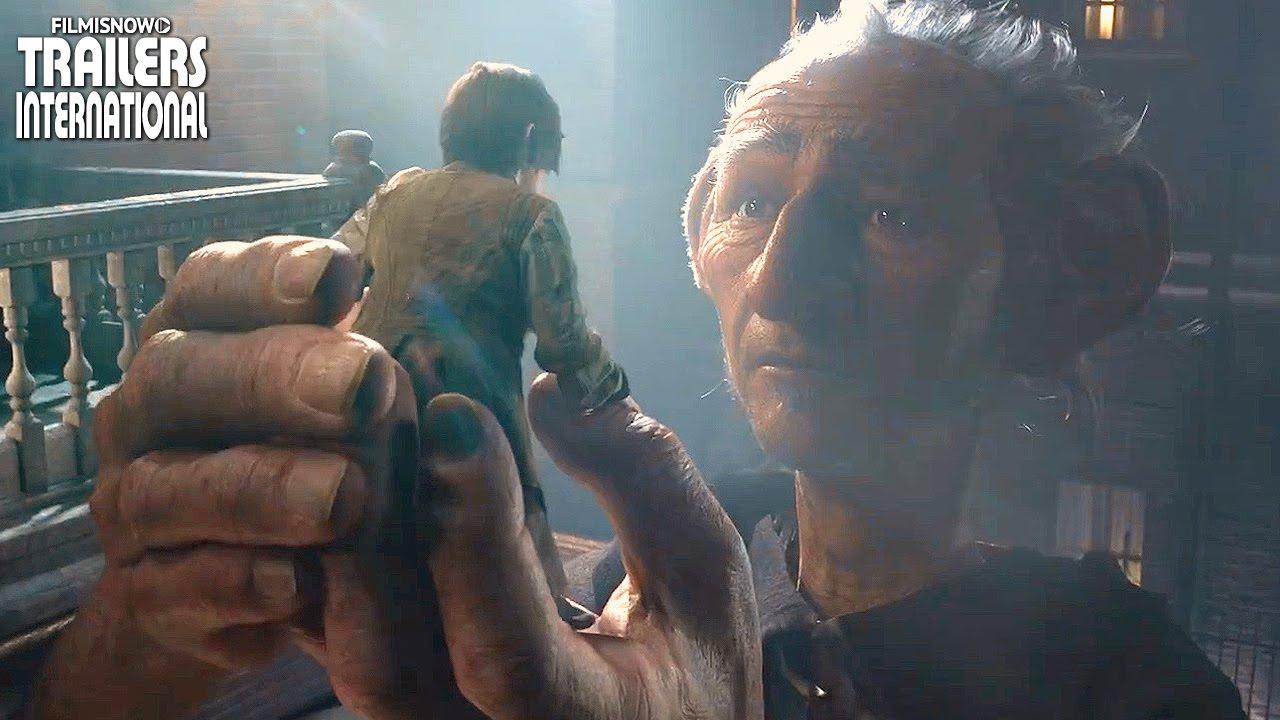 O Bom Gigante Amigo - Trailer Oficial Legendado [Steven Spielberg] HD
