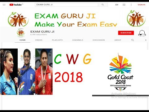 COMMONWEALTH GAMES 2018 (CWG) COMPLETE ANALYSIS