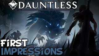 """Dauntless First Impressions """"Is It Worth Playing?"""""""