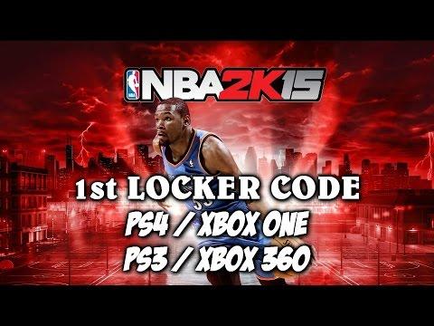 NBA 2K15 LOCKER CODE 1ST LOCKER CODE PS4 XBOX ONE