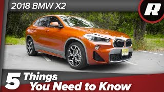 5 things to know: 2018 BMW X2