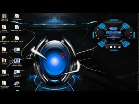 INSTALAR NUEVO TEMA ALIENWARE 2012 PARA WIN 7, XP Y VISTA¡¡
