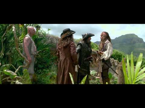 Pirates of the Caribbean: On Stranger Tides -  Someone Has To Jump Clip