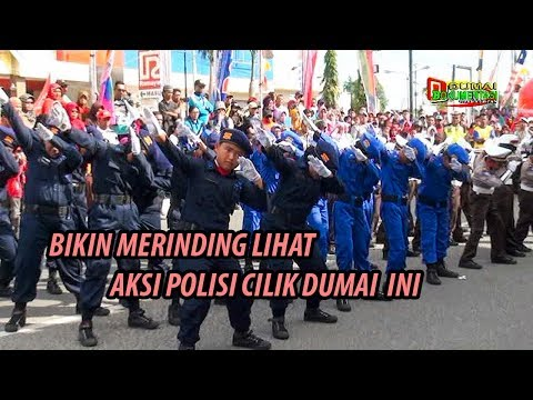 Bikin Merinding.. Aksi Polisi Cilik (Pocil) Dumai ini Pukau Ribuan peserta Dumai Fun Bike 2017